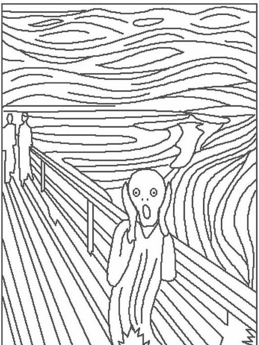 506x675 Art Coloring Pages