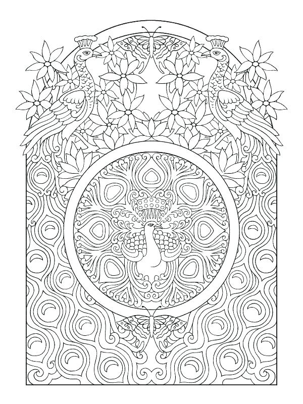 600x800 Art Deco Coloring Pages As Amazing Art Coloring Pages Art Peacock