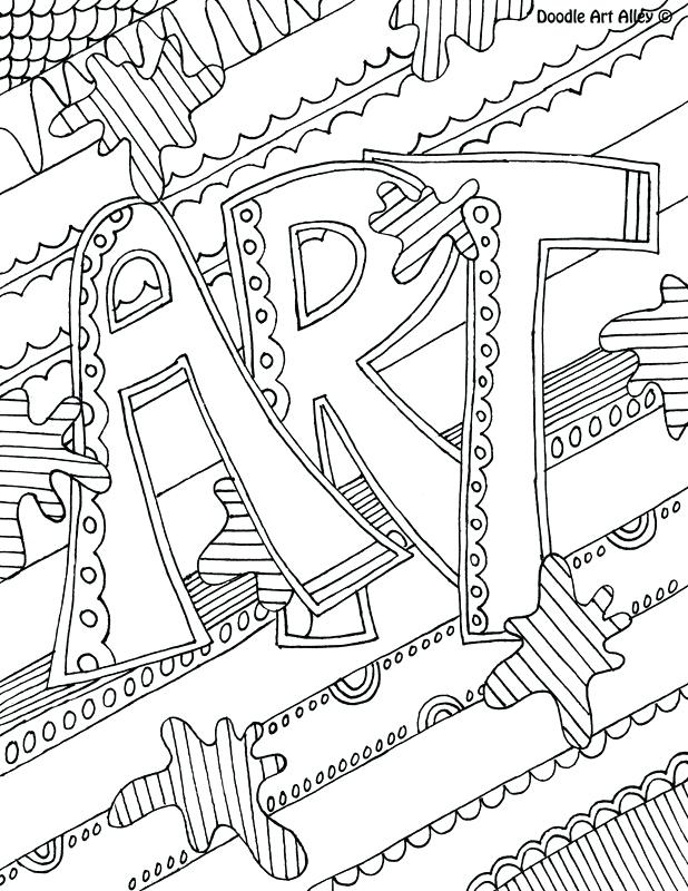 Art Coloring Pages For Kids At Getdrawings Com Free For Personal