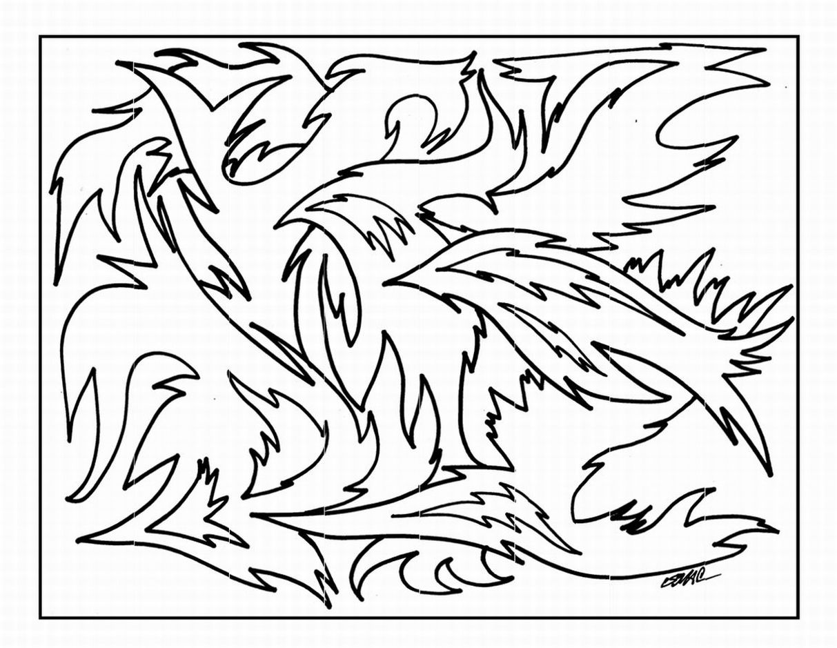 1213x939 Free Printable Abstract Coloring Pages For Kids