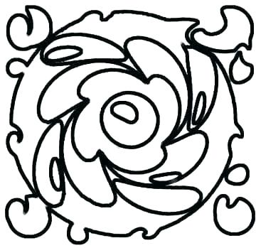 360x349 Abstract Art Coloring Pages