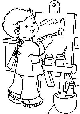 282x400 Nengaku Child Artist Kids Coloring Pages