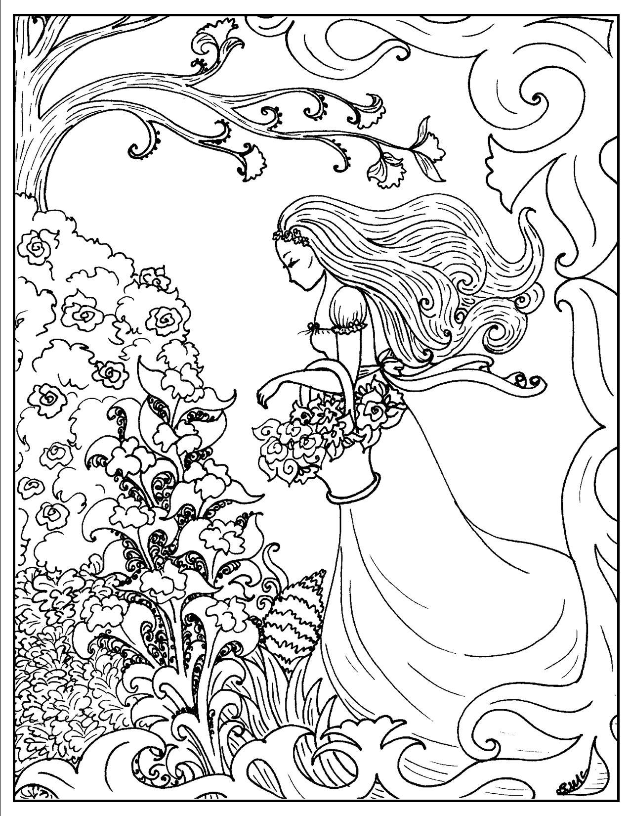 1275x1650 Art Nouveau Coloring Pages S Mac's Place To Be