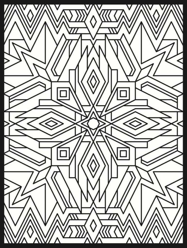 771x1024 Art Deco Coloring Pages Erf Art Deco Coloring
