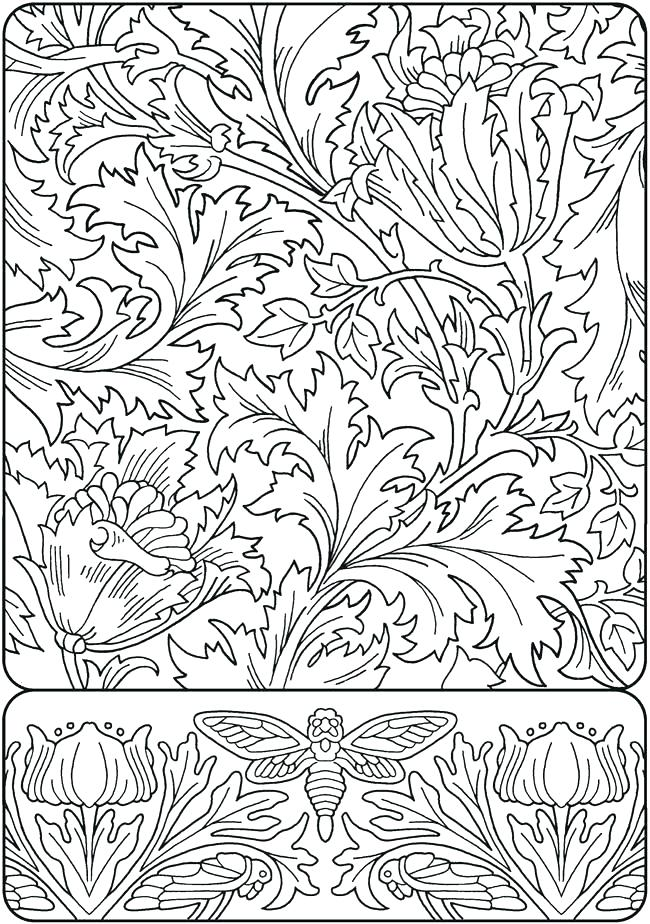 650x924 Art Nouveau Coloring Book And Art Coloring Book Art Coloring Pages