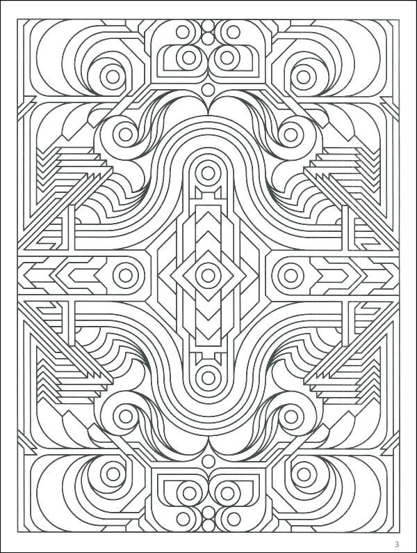 600x794 Art Nouveau Coloring Book Art Coloring Pages Art Nouveau Colouring