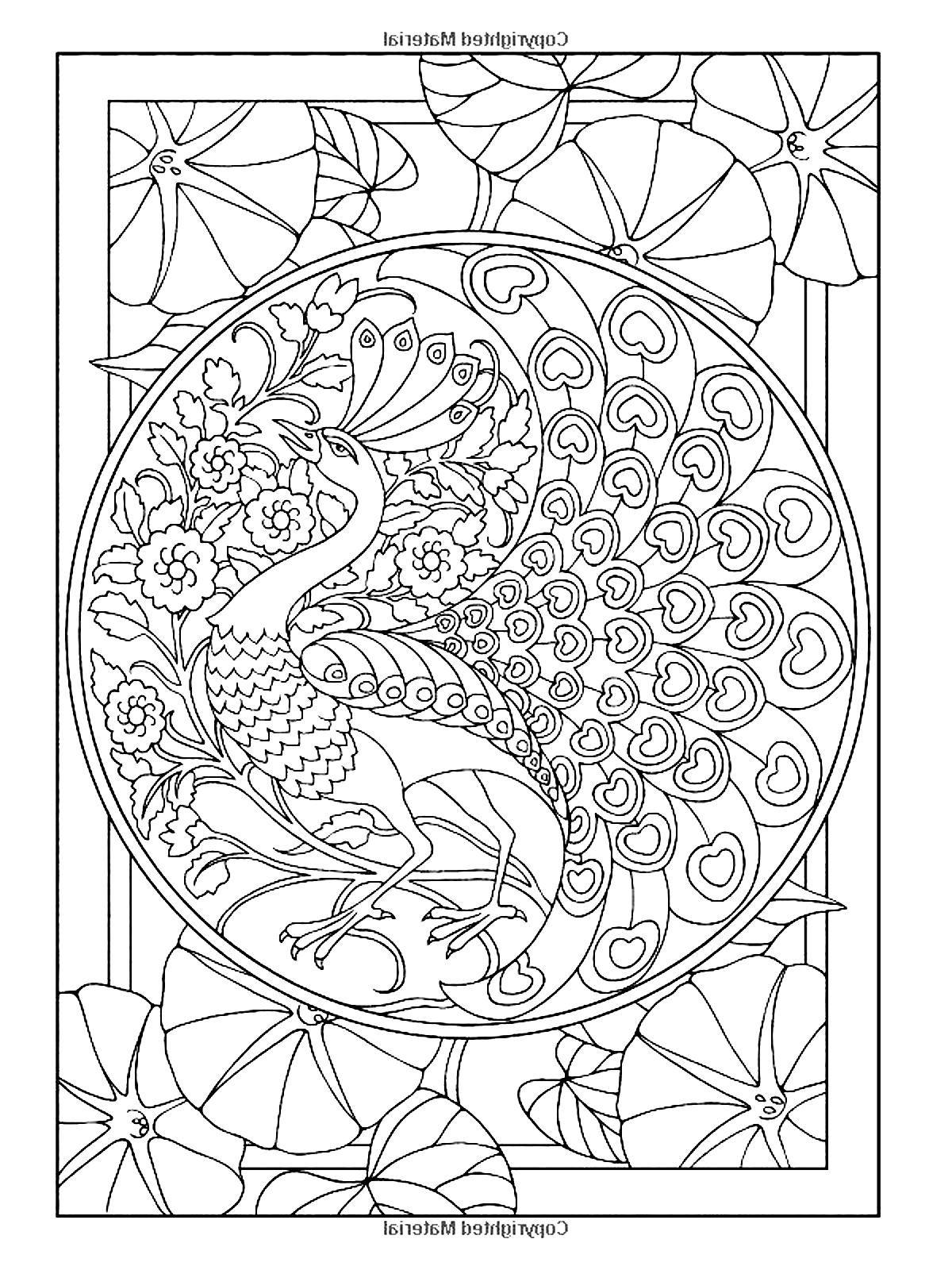 1200x1600 Art Nouveau Coloring Pages