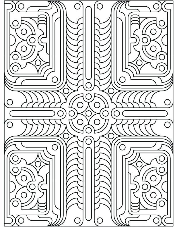 617x790 Art Nouveau Coloring Pages Art Architecture With Moons Art Deco