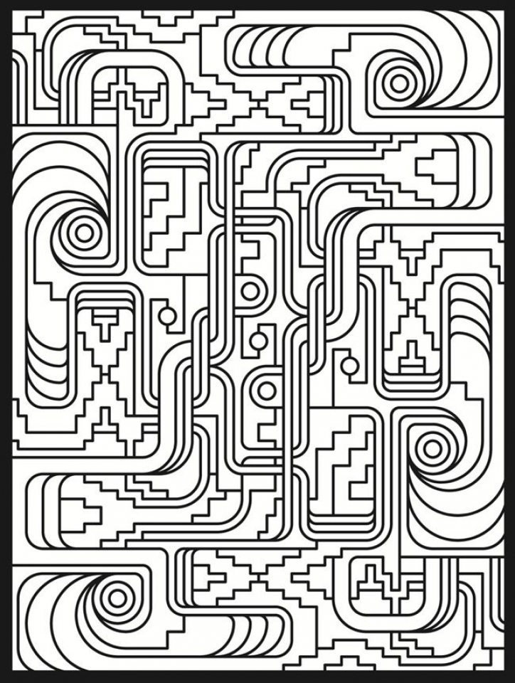 724x960 Get This Online Art Deco Patterns Coloring Pages For Adults !