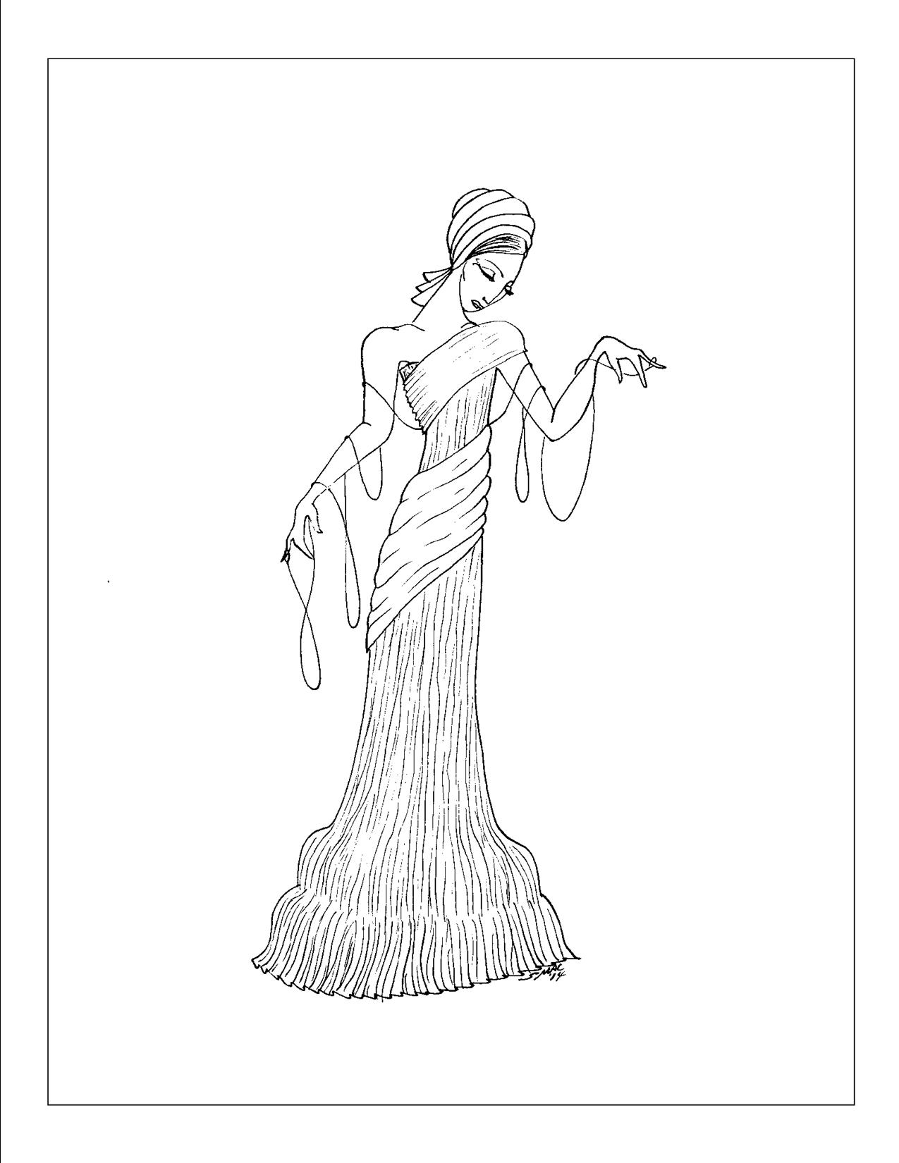 1275x1650 Art Deco Coloring Pages S Mac's Place To Be