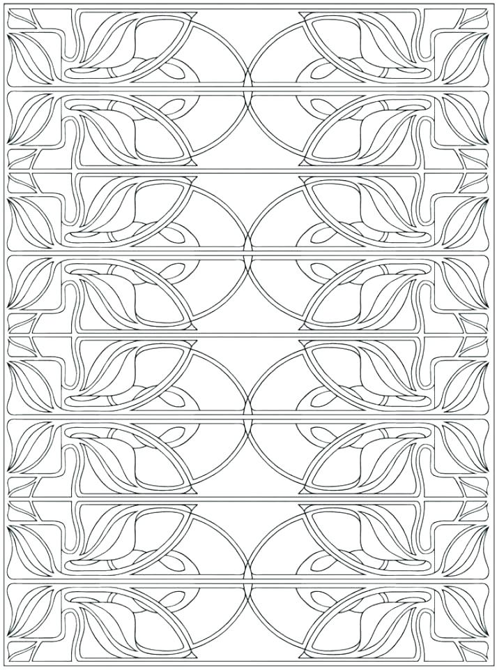 713x960 Art Deco Coloring Pages Art Coloring Sheets Printable Coloring Art