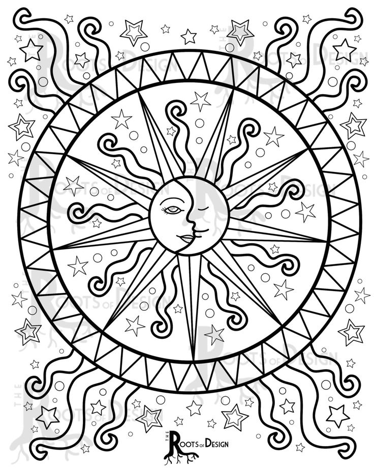 Art Design Coloring Pages