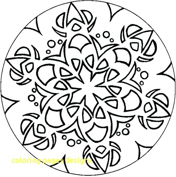 600x603 Free Coloring Pages Designs Design Art Coloring Pages Free Designs