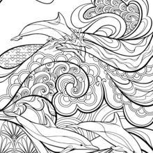220x220 Mandala Art Coloring Pages