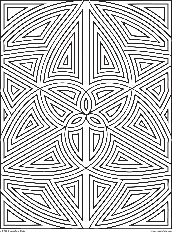2222x3000 Unique Coloring Pages Patterns Geometric