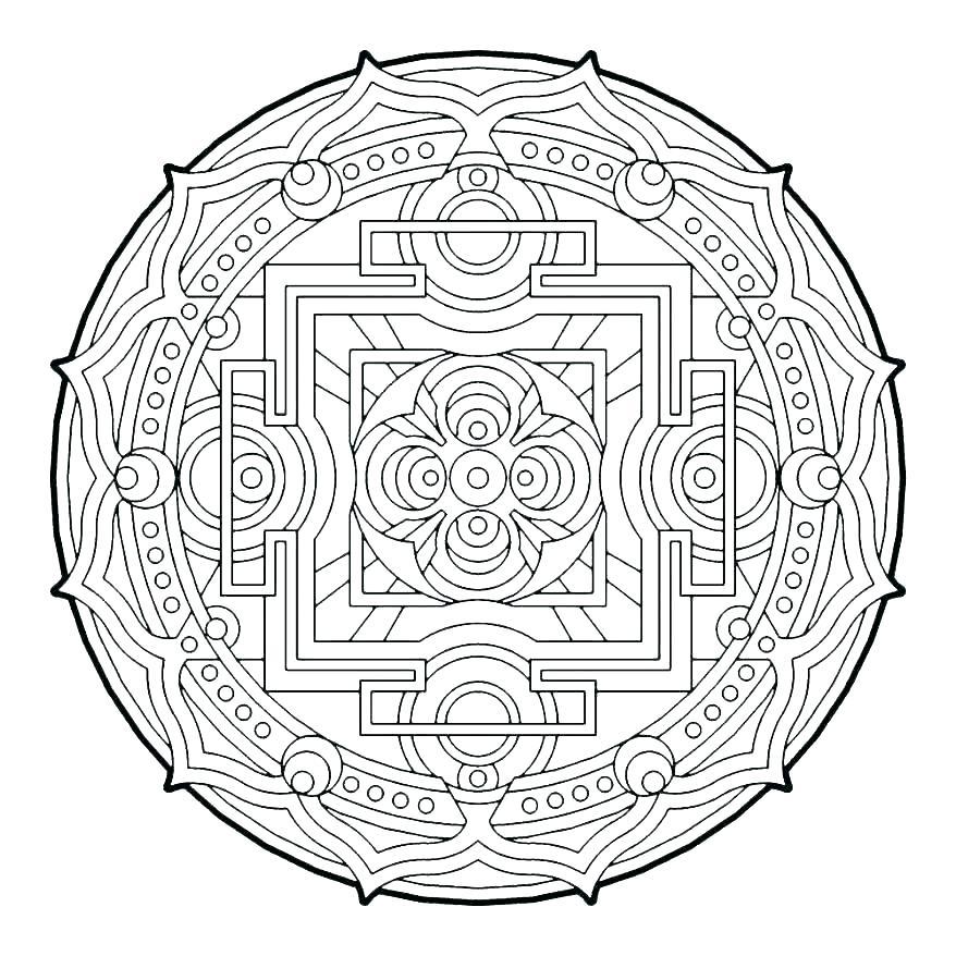 878x878 Circle For Coloring Circle Coloring Pages Circle Coloring Page