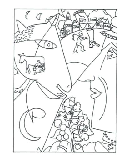 400x515 Famous Artists Coloring Pages Free Art History Coloring Pages Media