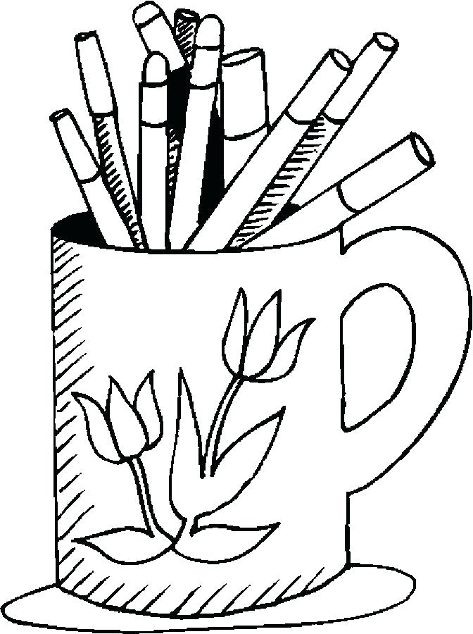 672x900 School Supplies Coloring Pages Bag School Supplies Coloring Pages