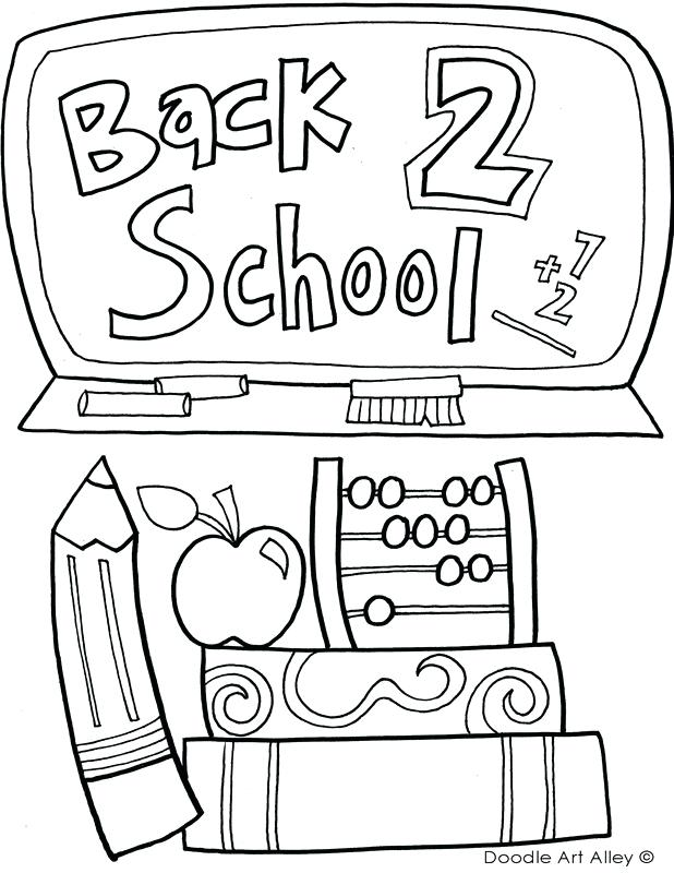 618x800 School Supplies Coloring Pages Coloring Pages Of School Supplies