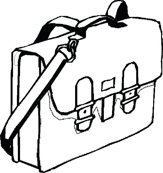 675x716 School Supplies Coloring Pages Pictures Of Art Supplies Free