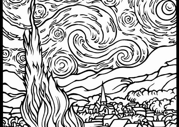 600x425 Art Pages To Color Art Color Pages Art Supplies Pencils Paint