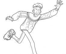 220x180 Arthur Christmas Coloring Pages