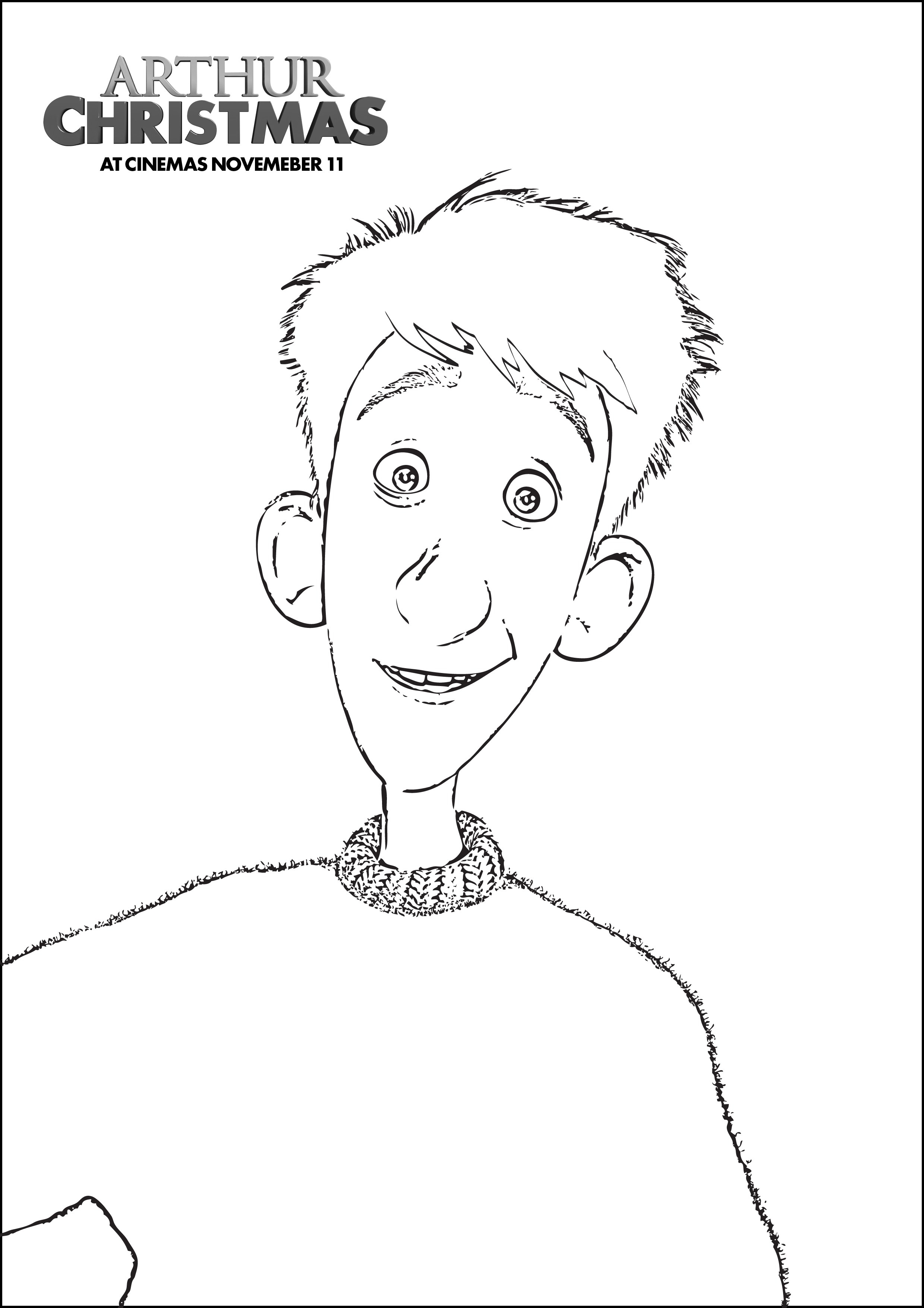 2479x3508 Fresh Arthur Christmas Coloring Pages Design Printable Coloring