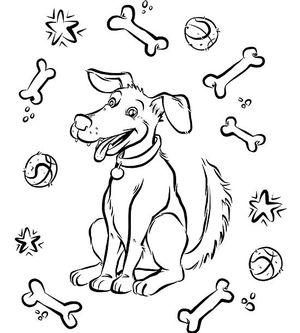 300x333 Free Printable Coloring Pages For Kids Parents