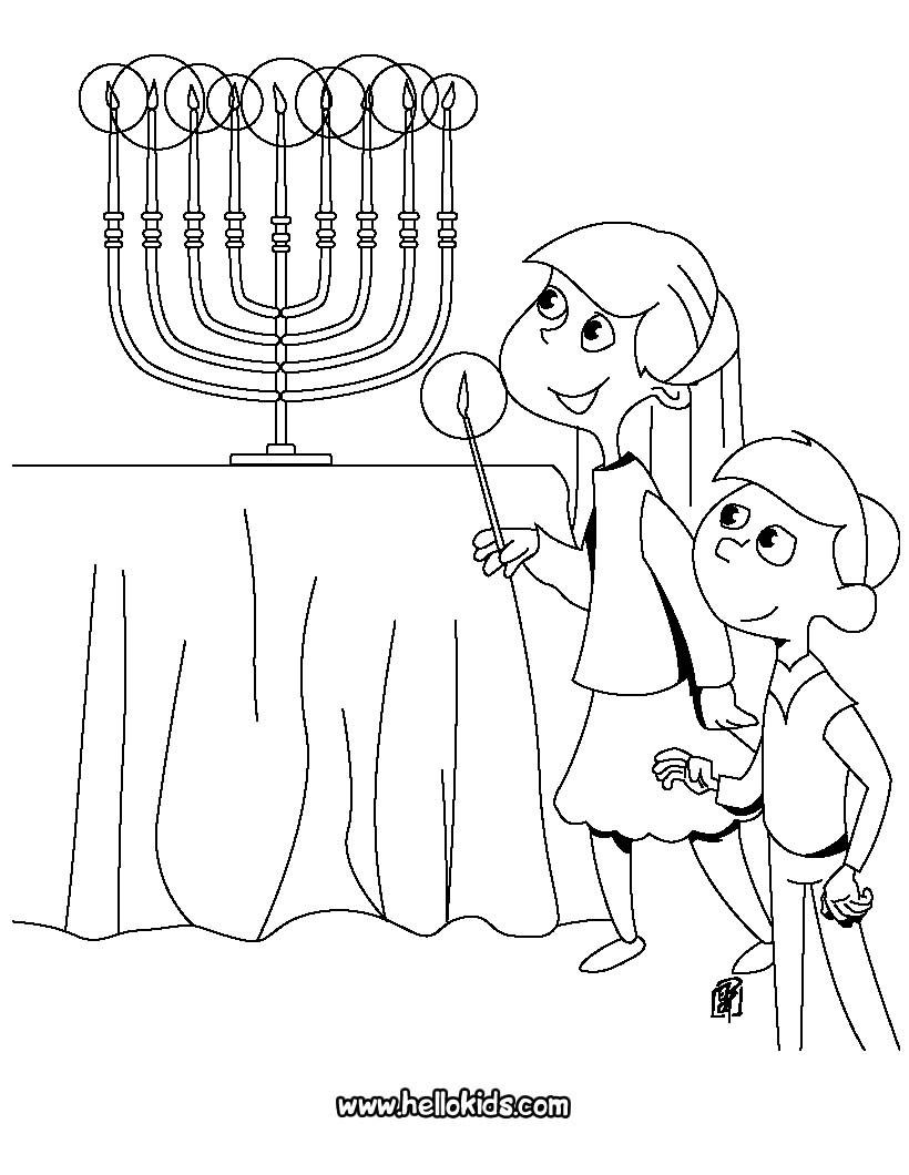 820x1060 Hanukkah Coloring Pages