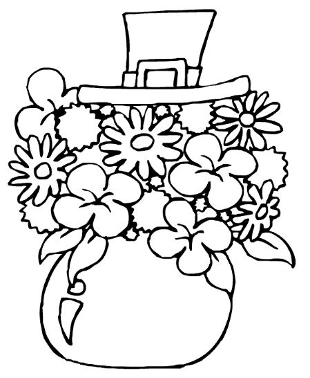 449x546 St Patrick's Day Clip Art, Crafts, Printables Coloring Pages Cards