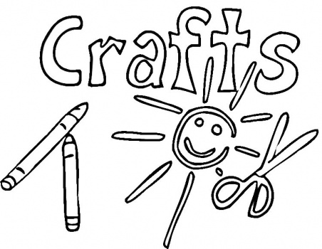 Arts And Crafts Coloring Pages at GetDrawings.com | Free for ...