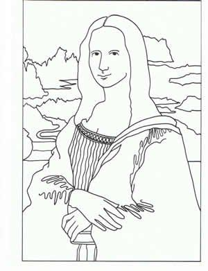 Artwork Coloring Pages