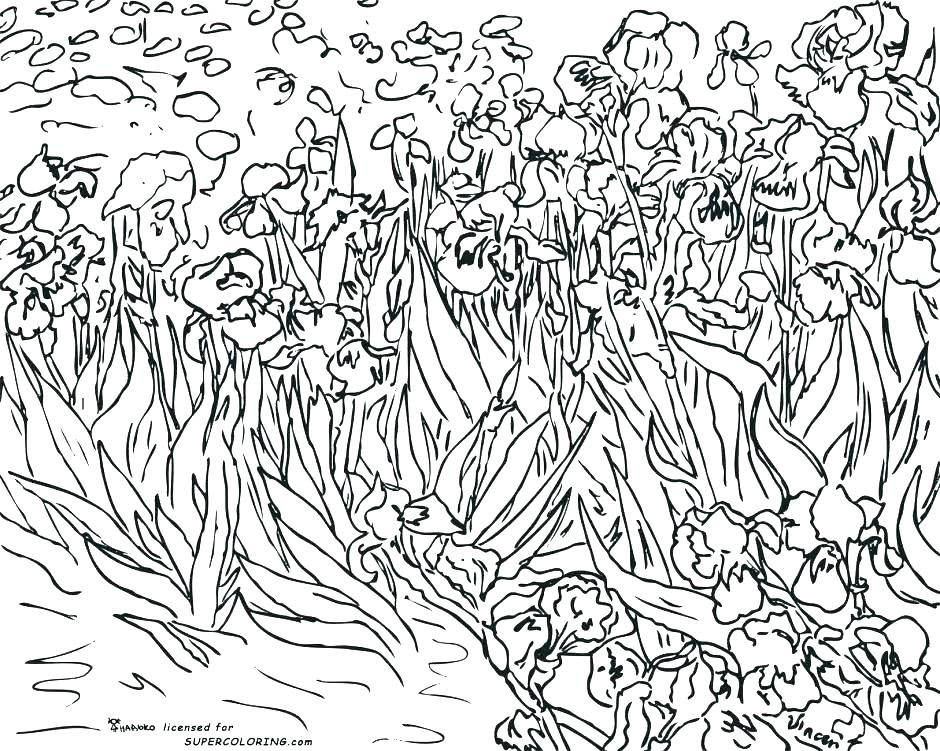 940x751 Famous Artists Coloring Pages Fine Art Coloring Pages Artist