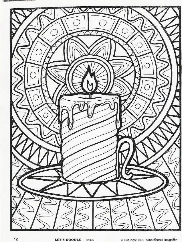 636x844 Free Printable Doodle Art Coloring Pages