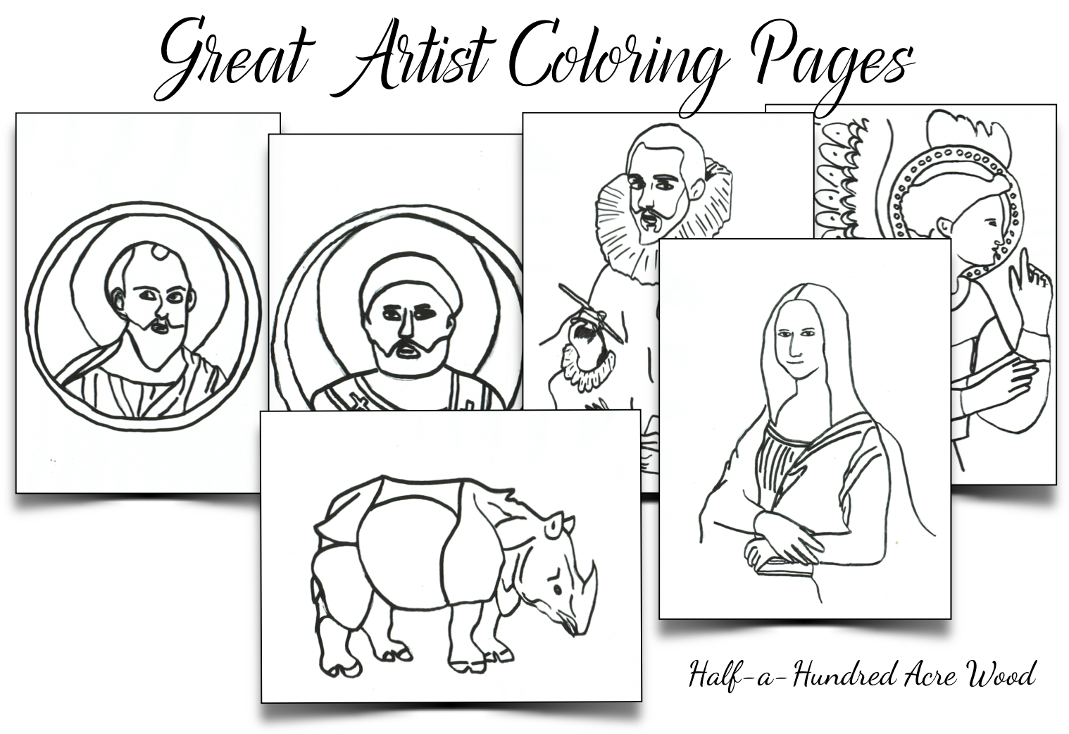 1518x1042 Great Artist Coloring Pages