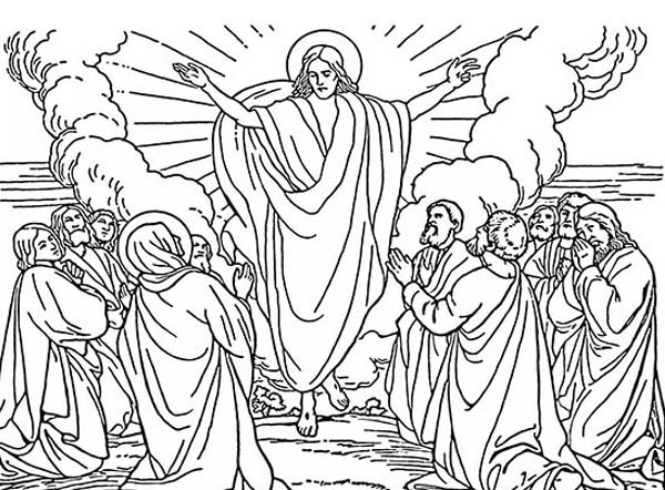 The best free Ascension coloring page images. Download from ...