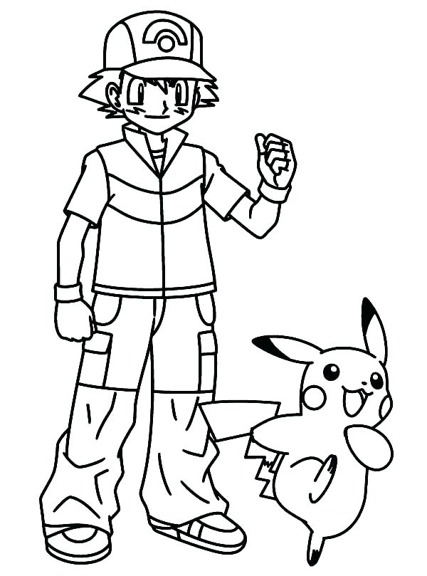 600x809 Coloring Pages Pikachu Color Pages Coloring Pages Printable
