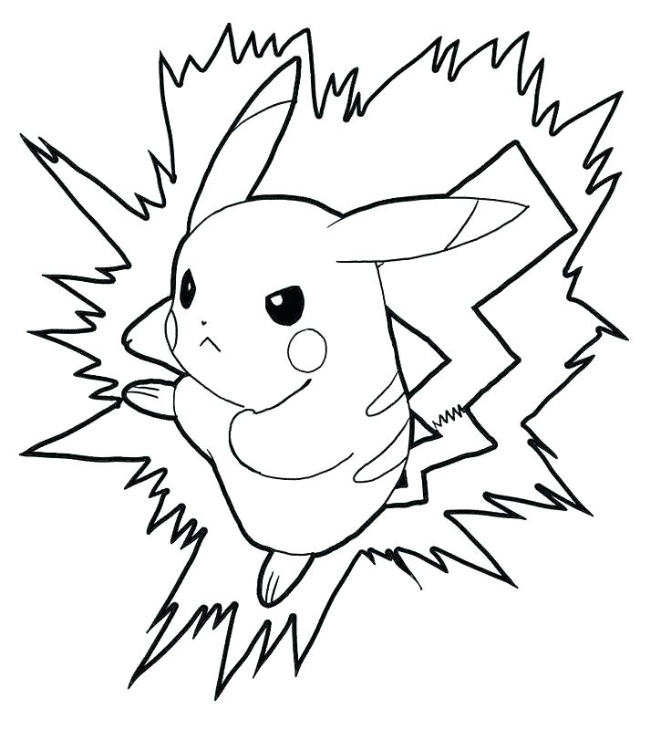 736x800 Pikachu Coloring Pages Free Coloring Pages This Is Coloring Pages