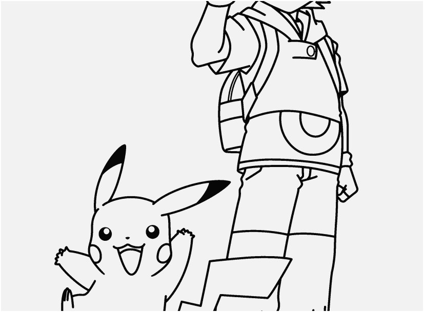 827x609 Pikachu Coloring Pages Pictures Pokemon Coloring Pages Ash