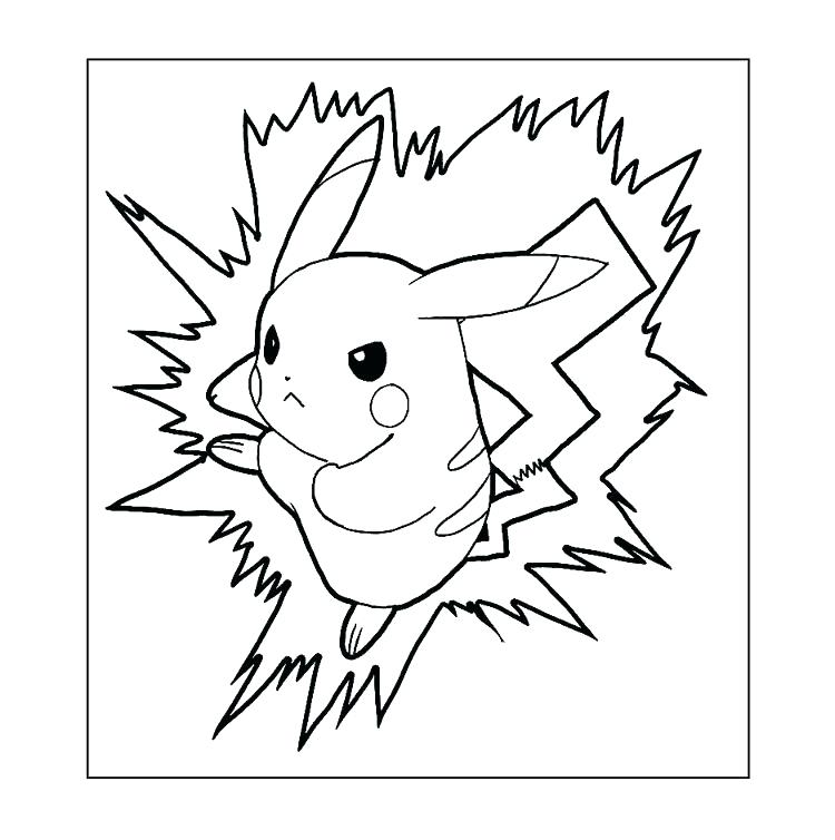 750x754 Pokemon Coloring Pages Pikachu Coloring Pages Coloring Pages