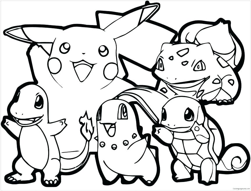 863x655 Pokemon Pikachu Coloring Pages Coloring Pages Adult Page And Ash