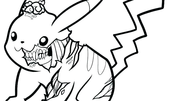 770x430 Pikachu Coloring Pages Printable
