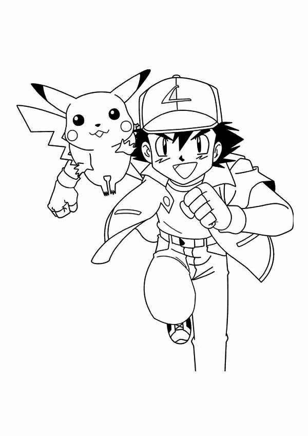 600x849 Ash Ketchum Coloring Page Image Miscellaneous Anime Manga Anime