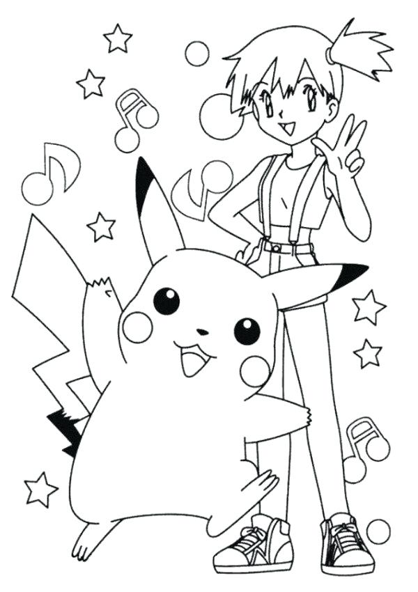 600x850 Ash Ketchum Coloring Pages Ash And Anime Coloring Page Printable