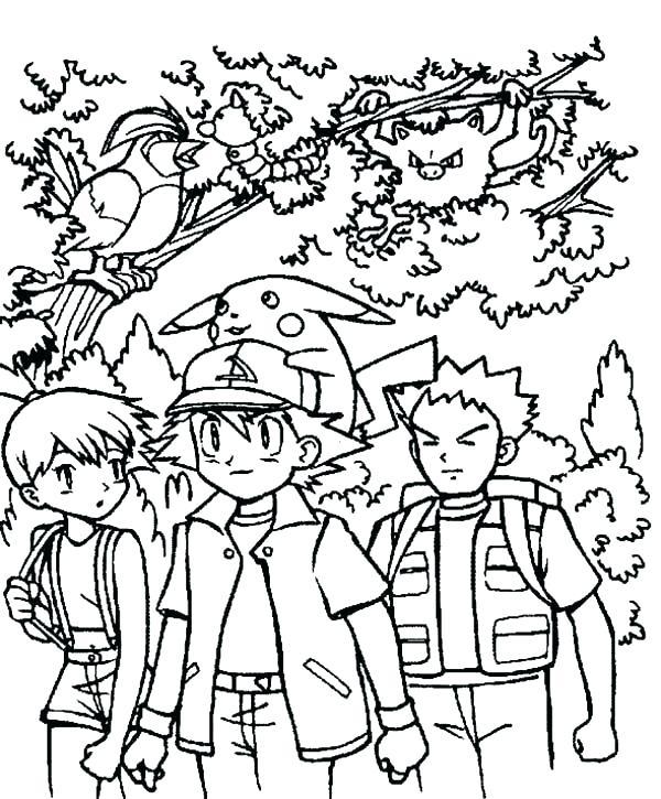 600x725 Ash Ketchum Coloring Page Ash Coloring Page Ash Ketchum Colouring