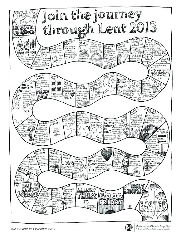 580x750 Ash Wednesday Coloring Page Ash Wednesday Colouring Sheets