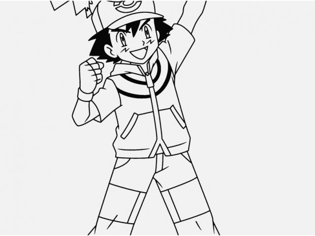 640x480 Ash Wednesday Coloring Pages Footage Pokemon Coloring Pages Ash