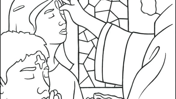585x329 Ash Wednesday Coloring Pages Lent Coloring Pages Ash Page Catholic