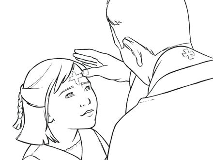 440x330 Coloring Ash Wednesday Coloring Pages