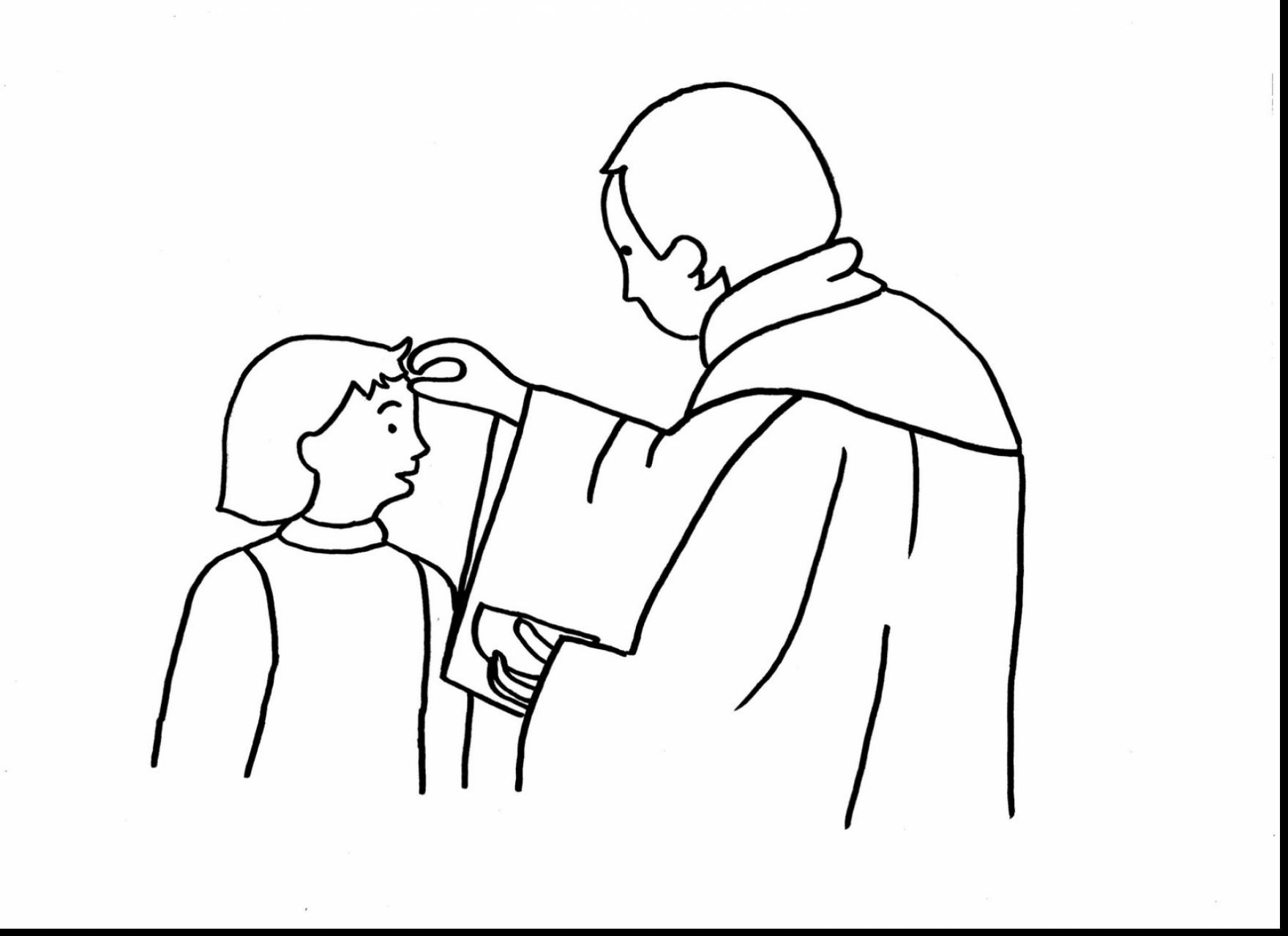 1760x1279 Extraordinary Ash Wednesday Coloring Page With Lent Pages Fancy Mosm